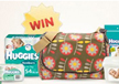 Win an OiOi baby bag filled with Huggies products