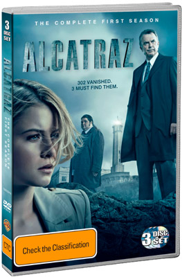 Win the first season of Alcatrez on DVD