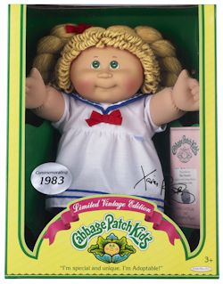 Win a limited edition Vintage Cabbage Patch Kid