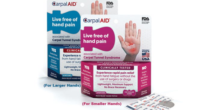 Free Sample Of CarpalAID