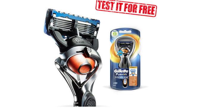Get Gillette Fusion ProGlide FlexBall Razor For Free