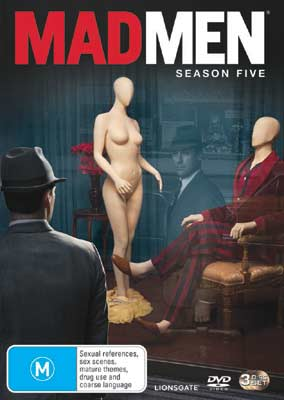 Win season 5 of Mad Men on DVD