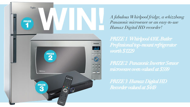 Win a fantastic new appliance thanks to Real Living