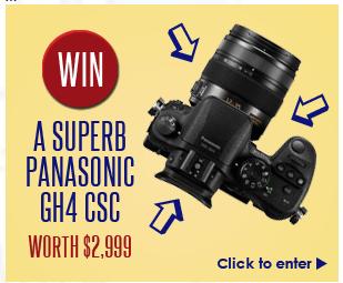 Win A Panasonic GH4 Camera!