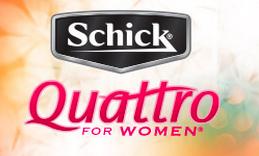 Free 'Schick Quattro for Women' Razor
