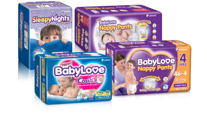 Free BabyLove Nappy Sample