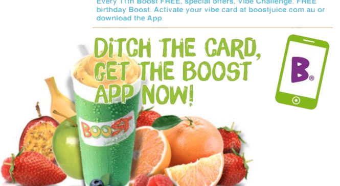 Your FREE Boost Juice!