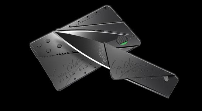 Free CardSharp Foldable Knife