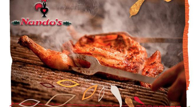 Nando's Free Meal, Drink & Rewards!
