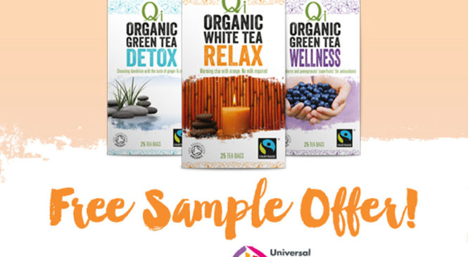 Free Qi Organic Green and White Tea Samples
