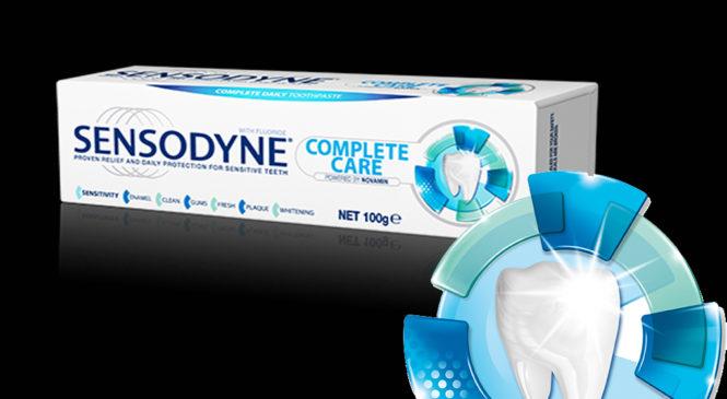Free Sensodyne Toothpaste